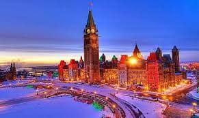 เมืองดังแคนาดา